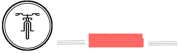 Fietstour Krakau Logo wit